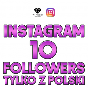 10 Instagram Followers z Polski