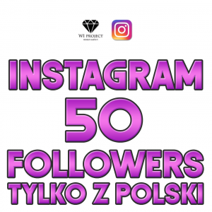 50 Instagram Followers z Polski