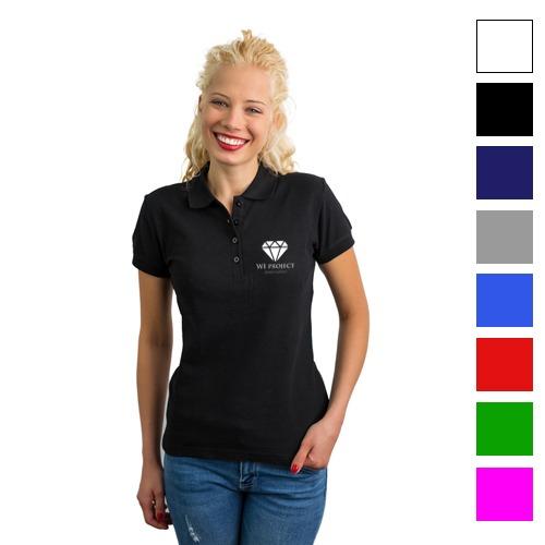 d329de45d Koszulka Polo Damska PREMIUM Własny Nadruk - Sklep Reklamowy