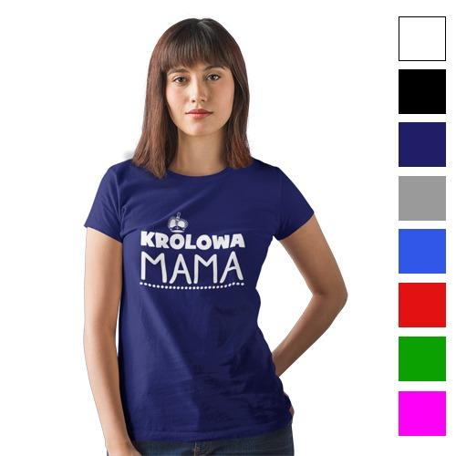 3102583f5b Koszulka na Dzień Matki Królowa Mama HIT KK80 - Sklep Reklamowy